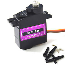 MG90 Metal Geared Micro Servo For Plane Helicopter Boat Car