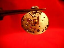 WITTNAUER 25D WATCH MOVEMENT RUNNING GOOD WITH ORIGINAL STEM AND CROWN  GOOD MVT