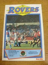 15/05/1988 Play-Off Semi-final división 1: Blackburn Rovers v Chelsea. CONDITI