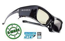 """3D Brille """"Black Diamond"""" für 4k FullHD Sony / Epson Beamer EH TW 9300 EH-TW730"""
