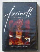 DVD FARINELLI IL CASTRATO - Stefano DIONISI / Enrico LO VERSO - CORBIAU - NEUF