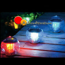 Solar Floating Multi LED Light Water Swimming Pool Ball