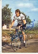 CYCLISME carte cycliste JEAN PIERRE DANGUILLAUME équipe PEUGEOT-ESSO signée