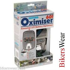 Oxford Oximiser 601 Motorcycle Car Essential Battery Charger Optimiser