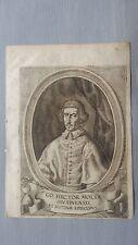 1669 Ritratto di Ettore Molza Vescovo (Hector Molsa Modena 1688-1745)