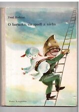 Fred Rodrian O baranku, co spadł z nieba il J Srokowski Polish book for children