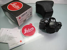 LEICA REFLEX R5 KIT INCLUDING LEATHER  BAG AND BOX IN NICE CONDITIONS