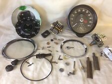 Smiths / Uk Jaeger Cable Driven Speedometer / Speedometer Repair Service