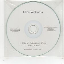 (FV746) Ellen Woloshin, While My Guitar Gently Weeps - DJ CD