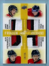 BENN STAAL PIETRANGELO COUTURIER 2014/15 UD ICE FROZEN FOURSOME PATCH /25 CANADA
