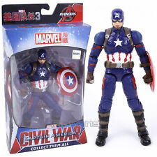 MARVEL - CAPTAIN AMERICA CIVIL WAR - FIGURA CAPITÁN AMÉRICA FIGURE 16cm