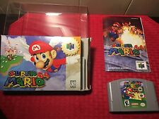 Super Mario 64 (Nintendo 64, 1996) Complete with Guide Book