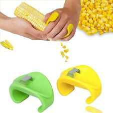 Corn Cob Kerneler Stripper Peeler Kitchen Tool Stainless Green Color Easy Peel