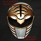 1:1 Costume Cosplay Mask Mighty Morphin White Tiger Power Ranger Helmet PR01