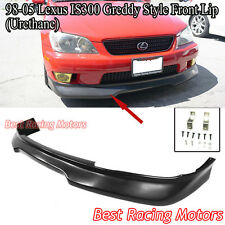 GD Style Front Lip (Urethane) Fits 01-05 Lexus IS300 4dr