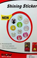 10 iPhone Home Button Stickers for Apple iPhone 6 5/4 4S 3GS iPad 1 2 3 4 Rabbit