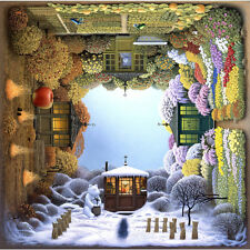 Jacek Yerka Four Seasons 576 Piece Jigsaw Puzzle