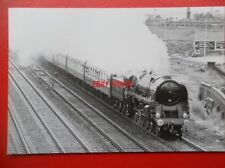 PHOTO  BR CLASS 9F LOCO NO 92220 EVENING STARVIEW 2