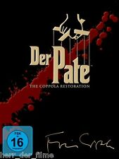 DER PATE 1-3 Triloge, The Coppola Restoration (5 DVDs) NEU+OVP