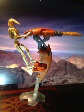 TAR WARS STAP VEHICLE with BATTLE DROID