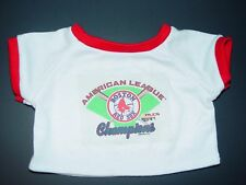 Build a Bear Clothes Clothing Boy Outfit Boston Red Socks Baseball Champions