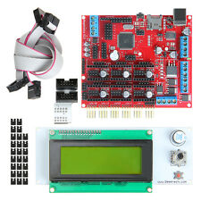 Megatronics V2.0 Atmega2560-16AU 3D Printer control Board LCD2004 with Adapter