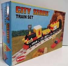 TRENINO TRAIN SET Costruzioni Atco STAZIONE del TRENO no marca LEGO ma compatibi