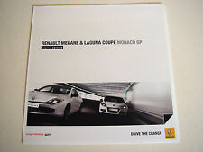 Renault . Magane & Laguna Coupe . Monaco GP . March 2011 Sales Brochure