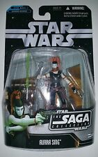Star Wars Saga Collection Expanded Universe Aurra Sing Figure NOC