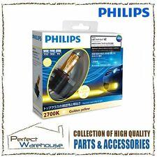 PHILIPS X-treme Ultinon LED Lamp 2700K Yellow fit for Front Fog H8/H11/H16 AU