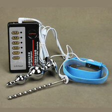 Penis Electronic Physiotherapy Ring Pulse Machine Extender Enhancing