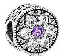 Genuine Pandora Silver Forget Me Not Charm *S925 ALE*