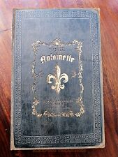 DECORATIVE VINTAGE STYLE ANTOINETTE HOTEL BOOK BOX... NICE ITEM