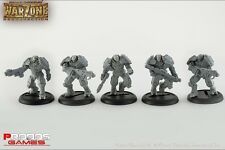 Warzone Resurrection - Cybertronic Armoured Chasseurs - Prodos BNIB