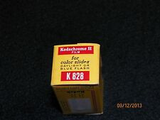 Vtg Kodak Kodachrome II Color K 828 Film Develop before dated 1970  Must L@@k