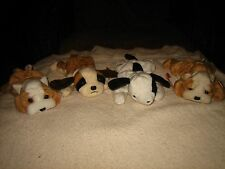 4 TY BEANIE BABY DOGS~SPOT,BERNIE & 2 WRINKLES~NWT~RARE~GREAT 4 YOUR COLLECTION
