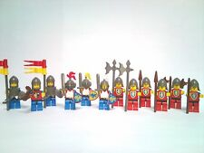 Lego lot 13 figurines chevaliers Lion castle knight château