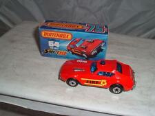 MATCHBOX SUPERFAST #64 FIRE CHIEF WITH ITS BOX PLEASE SEE THE PHOTOS