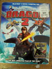 NEW HOW TO TRAIN YOUR DRAGON 2 BLU RAY + DVD + UV FREE FAST 1ST CLS S&H