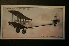 Imperial Airways  DH 66 Hercules  Airliner  Original 1930's Vintage Card