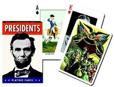 Deck of Playing Cards American Presidents Each Card Different Piatnik