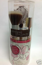EcoTools by Alicia Silverstone 4 Piece Backstage Vanity Set PINK AND WHITE NEW.
