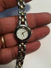 Lovely Ladies Dual Tone Anne Klein 10/8345 Analog Watch