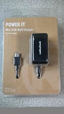 Power It Mini USB Wall Charger 5' Cable 2302393 Radioshack for Phone Tablet MP3