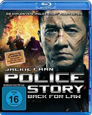JACKIE CHAN/TIAN JING/YE LIU/+ - POLICE STORY-BACK FOR LAW  BLU-RAY ACTION NEU