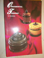 Ornamental Turning LATHE MILL TIPS TECHNIQUES BOOK MANUAL GUIDE By TD Walshaw