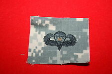 GENUINE US ARMY CAMO PAINTBALL BASIC COMBAT PARACHUTE WING INSIGNIA CLOTH ACU