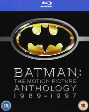 BATMAN Anthology Complete Bluray Collection RETURNS FOREVER ROBIN 1 2 3 4 Movies