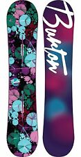 New in Plastic Women's Burton Genie 142 cm Snowboard All Mountain