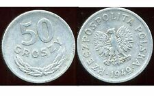 POLOGNE 50 groszy 1949  ( bis )